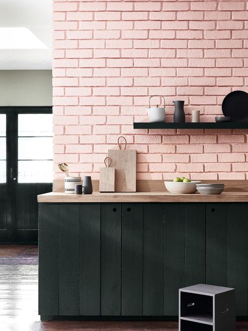25 Best Kitchen With Pink Backsplash Ideas Designs
