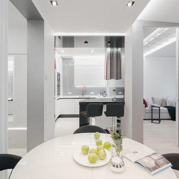 Проект двухкомнатной квартиры в ЖК V-house