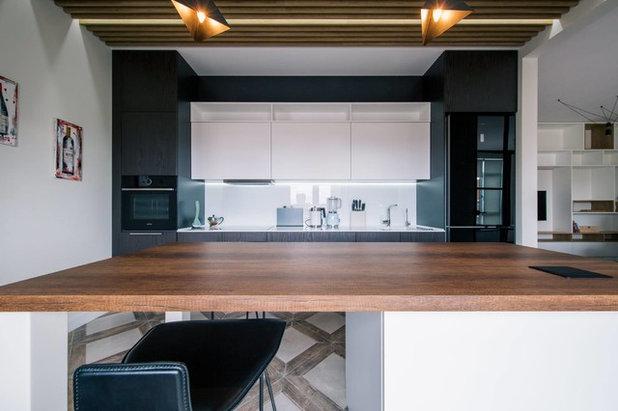 Современный Кухня by TABOORET Interiors Lab