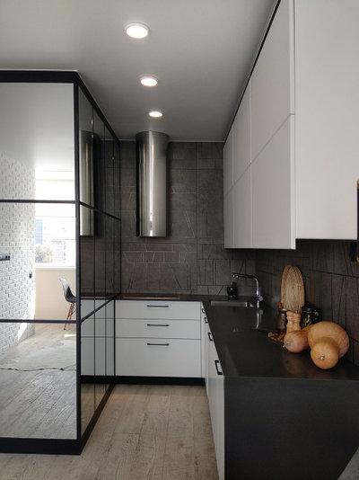 Современный Кухня by Студия дизайна интерьера MAZROV