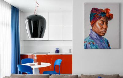 Houzz тур: Квартира в оттенках пляжа в Сен-Тропе