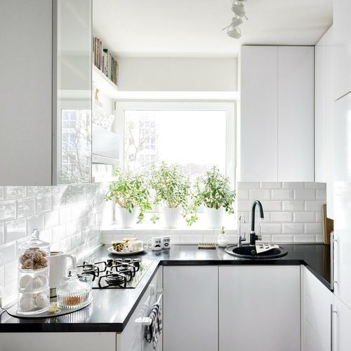 Compact Apartment Kitchens: Small Apartment Kitchens