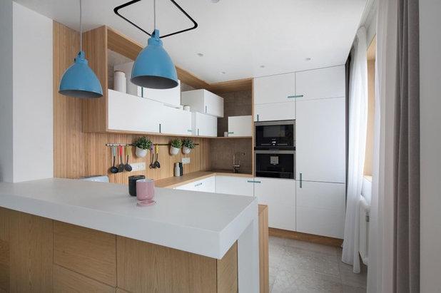 Современный Кухня by Ze|Workroom Studio