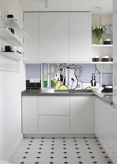 Contemporary Kitchen by Юлия Кирпичева