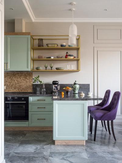Неоклассика Кухня by Студия дизайна интерьеров BILBAO Design