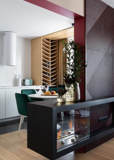 Современный Кухня by Дизайн бюро De-Sense