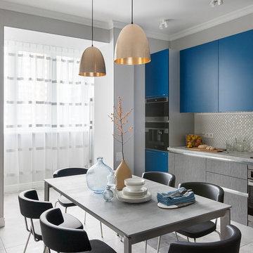 Современная квартира. Кухня