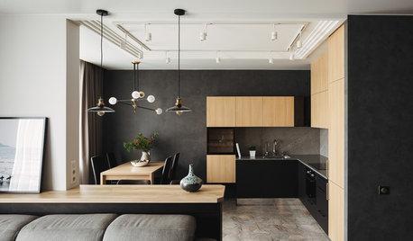 Есть решение: 7 интерьеров кухни 13 кв.м