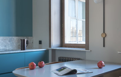 Просто фото: Цвет вместо кухонного шкафчика