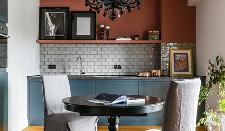 Просто фото: Кухня без верхних шкафов