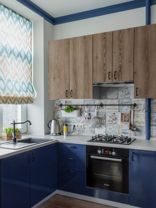 Small eclectic kitchen design ideas remodel pictures houzz for Eclectic kitchen ideas