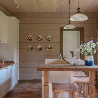 Стильный дизайн: кухня в стиле рустика - последний тренд