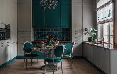 Фотоохота: Кухни-столовые, где в меню — стиль