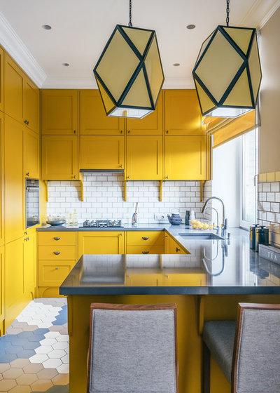 Современный Кухня by Студия Enjoy Home