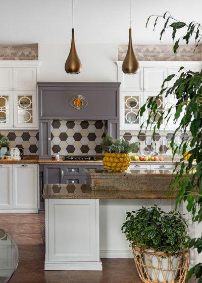 Кухня by Студия дизайна Анны Серсковой «ЙОХ architects»