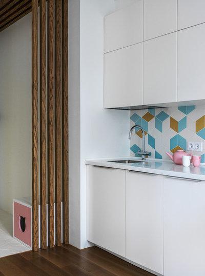 Современный Кухня by Алексей Иванов и Павел Герасимов|Geometrium design