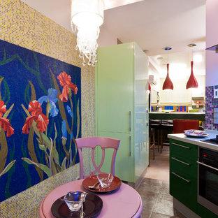 Вид из кухни в гостиную