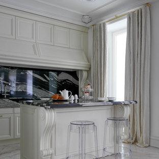 Пример оригинального дизайна: кухня в классическом стиле