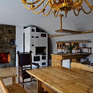 Свежая идея для дизайна: кухня в стиле кантри - отличное фото интерьера