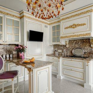 Свежая идея для дизайна: кухня в викторианском стиле - отличное фото интерьера