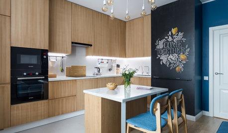 Houzz тур: Квартира начинающего архитектора по чужому проекту