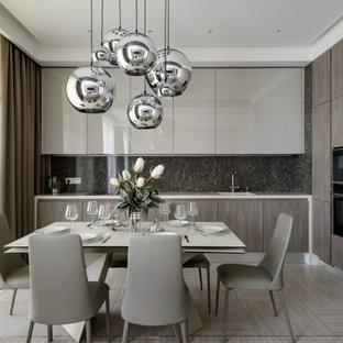 Пример оригинального дизайна: кухня в современном стиле