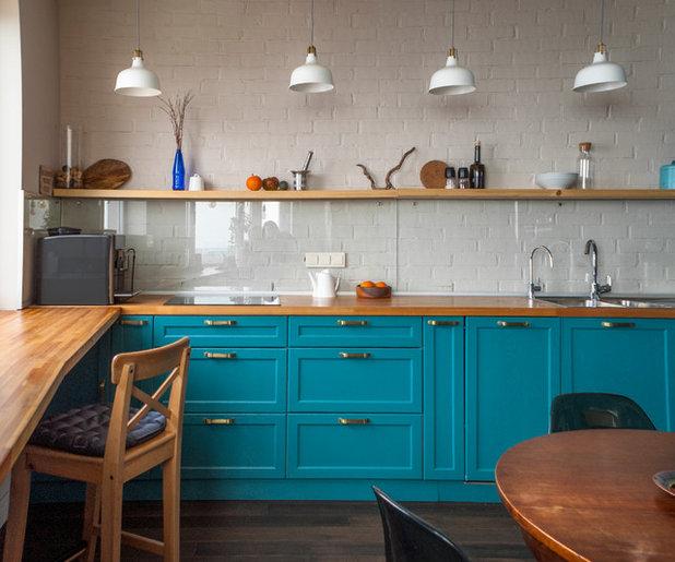 トランジショナル キッチン by Re.dis interiors