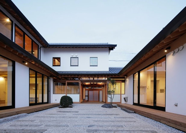 アジアン 庭 by 青木茂建築工房|SHIGERU AOKI ARCHITECT & ASSOCIATES inc.
