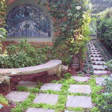 #1  Prayer Garden, quiet place to sit