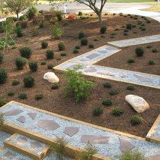 Asian Landscape by Daniel Nolan for Flora Grubb Gardens