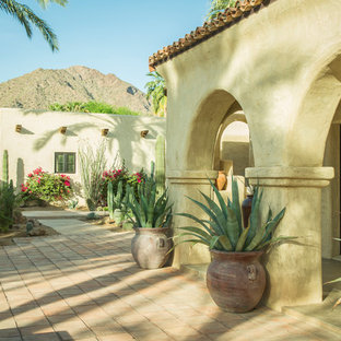 Inspiration for a huge southwestern landscaping in Phoenix.