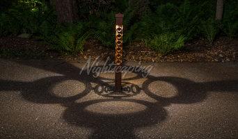 2 Series - CorTen Steel Bollards by Nightscaping USA
