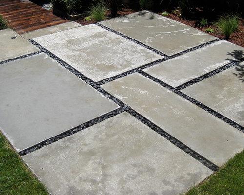 Large Concrete Pavers Houzz