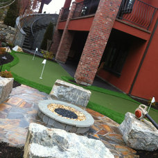 Traditional Landscape by Synthetic Turf International of Canada
