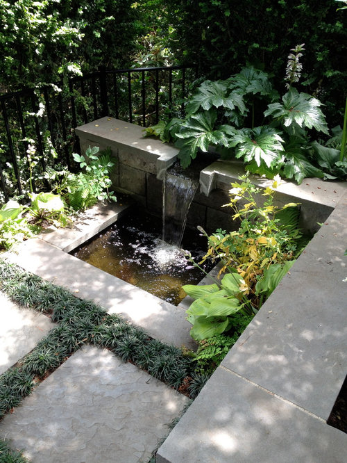 Small water feature houzz for Small water features