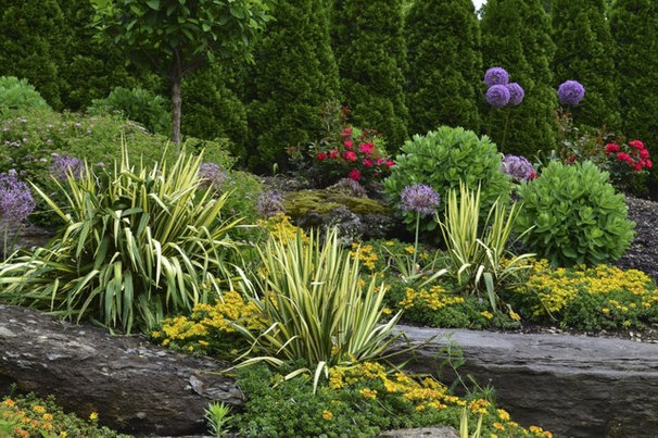 Contemporary Landscape by Pennsylvania Landscape & Nursery Association