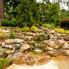 Traditional Landscape by Georgia Classic Pool