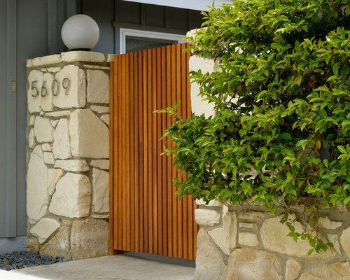 Mid Century Gates Home Design Ideas Pictures Remodel And