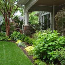 Traditional Landscape by Myron Greer Garden Design
