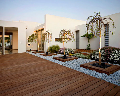 Modern landscape ideas designs remodels photos for Modern garden ideas