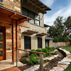 contemporary landscape by CG&S Design-Build