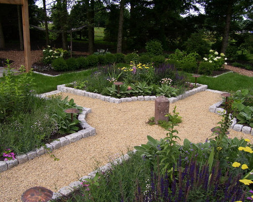 Garden edging home design ideas pictures remodel and decor for Pool garden edging