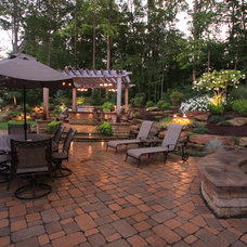 Traditional Landscape by Greensource design/build - Bob Oster designs