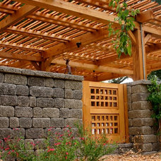 Traditional Landscape by Madrone Landscapes