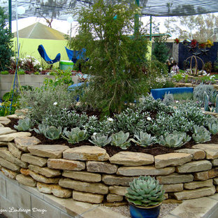 Design ideas for a contemporary landscaping in San Diego.