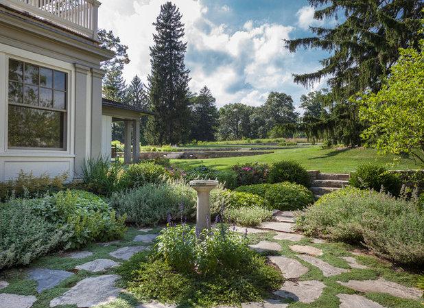 Farmhouse Landscape by Devore Associates