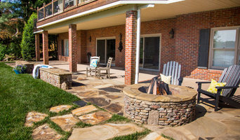 A&V outdoor kitchen and dining garden