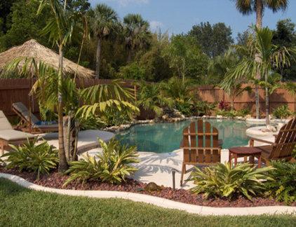 Tropical Landscape by Globus Builder