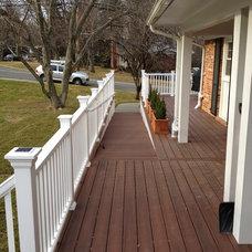 Traditional Porch by Glickman Design Build, LLC