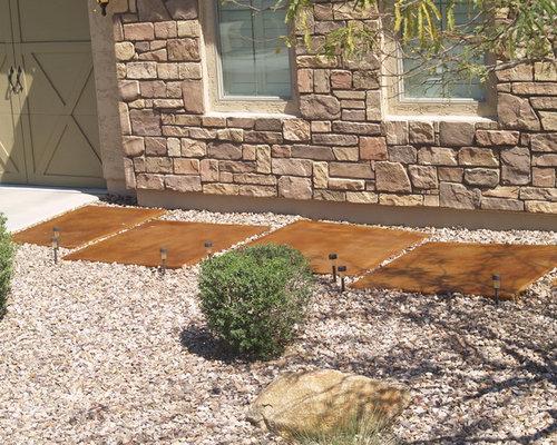 Concrete Stepping Stones Design Ideas Amp Remodel Pictures